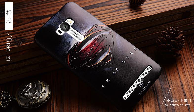 เคส asus zenfone selfie ZD551KL TPU พิมพ์ลาย 3D SUPERMAN