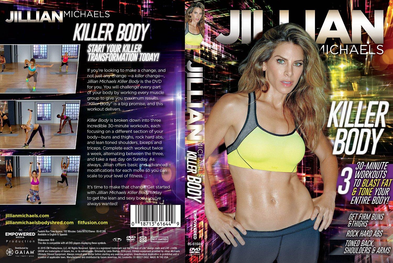 ดีวีดีจิลเลี่ยนสำหรับผู้เริ่มต้น Jillian Michaels - Killer Body (2015)
