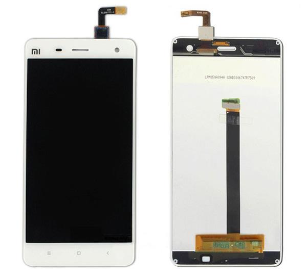 ราคาหน้าจอชุด+ทัสกรีน Xiaomi Mi4 สีขาว แถมฟรีไขควง ชุดแกะเครื่อง อย่างดี