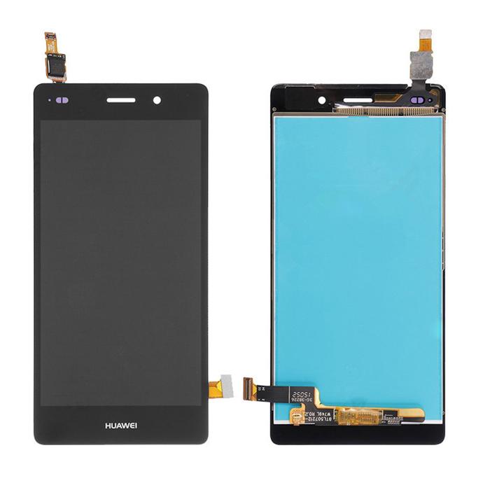ราคาหน้าจอชุด+ทัชสกรีน Huawei P8 Lite อะไหล่เปลี่ยนหน้าจอแตก ซ่อมจอเสีย สีดำ