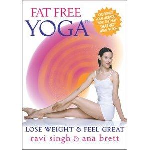 ดีวีดีออกกำลังกาย โยคะ ลดความอ้วน - Fat Free Yoga With Ana Brett
