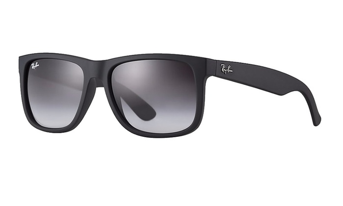 Ray-Ban RB4165 601/8g Justin Black rubber Grey gradient