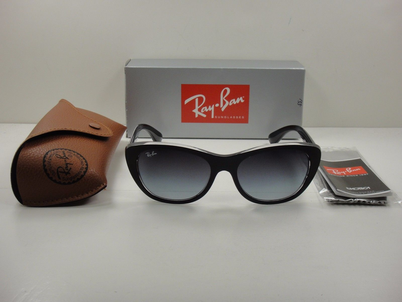 Ray-Ban RB4227 60528G Black Frame Grey Gradient 55mm