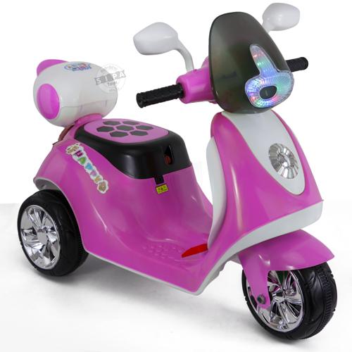 รถมอเตอร์ไซค์ (รถแบต) สีชมพู...ฟรีค่าจัดส่ง...ฟรีค่าจัดส่ง