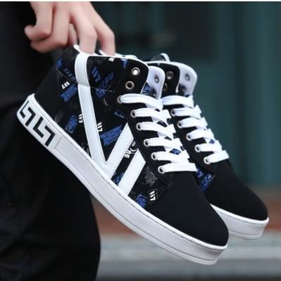 พรีออเดอร์ รองเท้ากีฬา เบอร์ 36-48 แฟชั่นเกาหลีสำหรับผู้ชายไซส์ใหญ่ เบา เก๋ เท่ห์ - Preorder Large Size Men Korean Hitz Sport Shoes