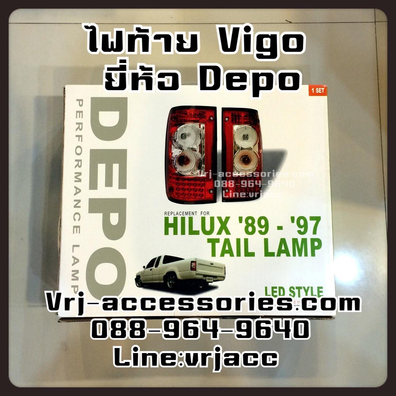 ไฟท้าย LED โตโยต้า วีโก้ : TOYOTA - VIGO 1989-1997
