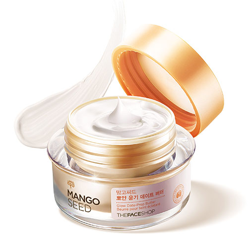 THEFACESHOP Mango Seed Glow Date Prep Butter 50ml.