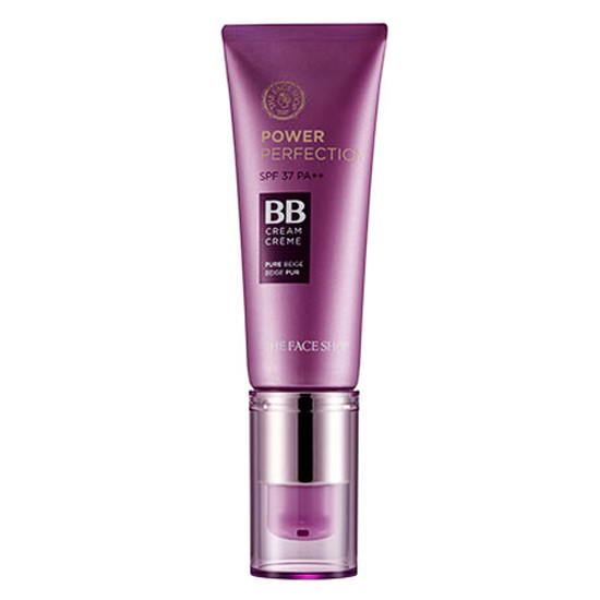 THEFACESHOP Power Perfection BB Cream SPF37/PA++ 20g. [V201 Light Beige]