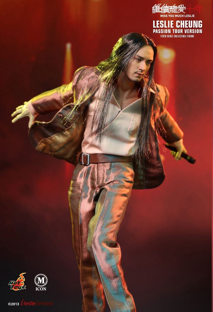 HOT TOYS MIS14 Leslie Cheung (Miss You Much Leslie - Passion Tour Version)