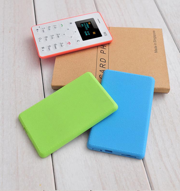 Ultra Thin CARD Phone มือถือแบบการ์ด อย่างบาง แบตอยู่ได้เกือบ 1 เดือน