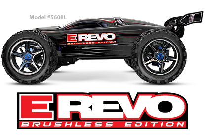 E-Revo Brushless Edition 4WD Monster Truck TQ 2.4GHz Radio System #5608