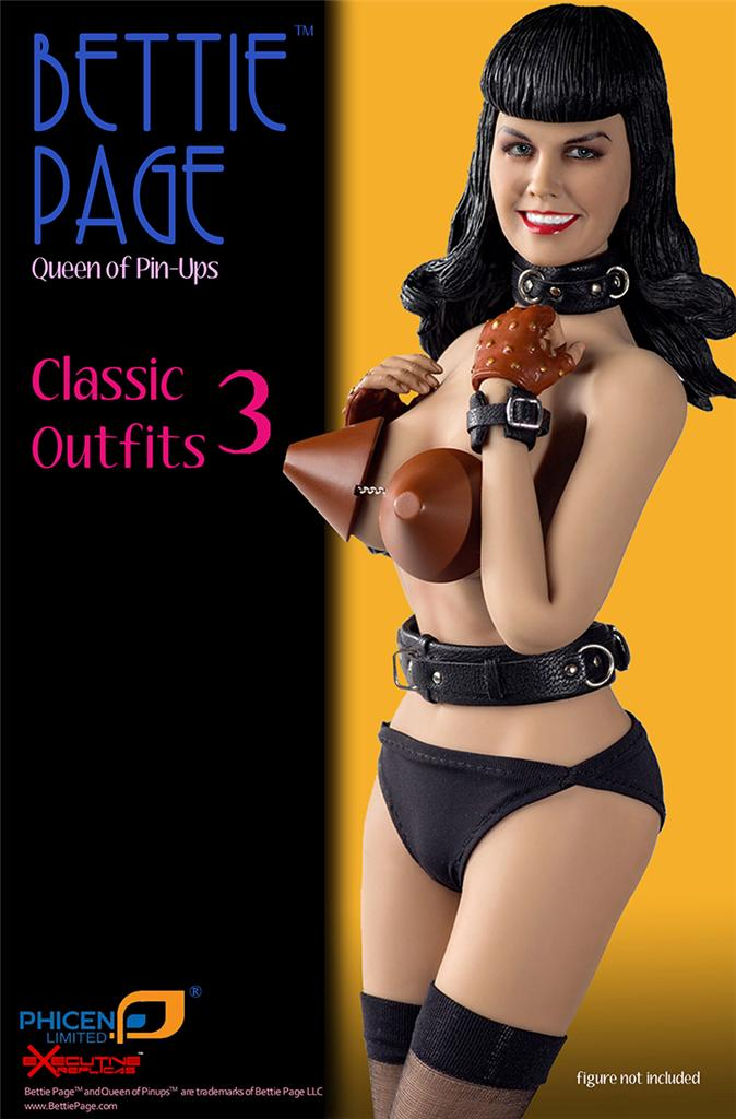 PHICEN ERPLBP003 BETTIE PAGE Classic Outfits 3