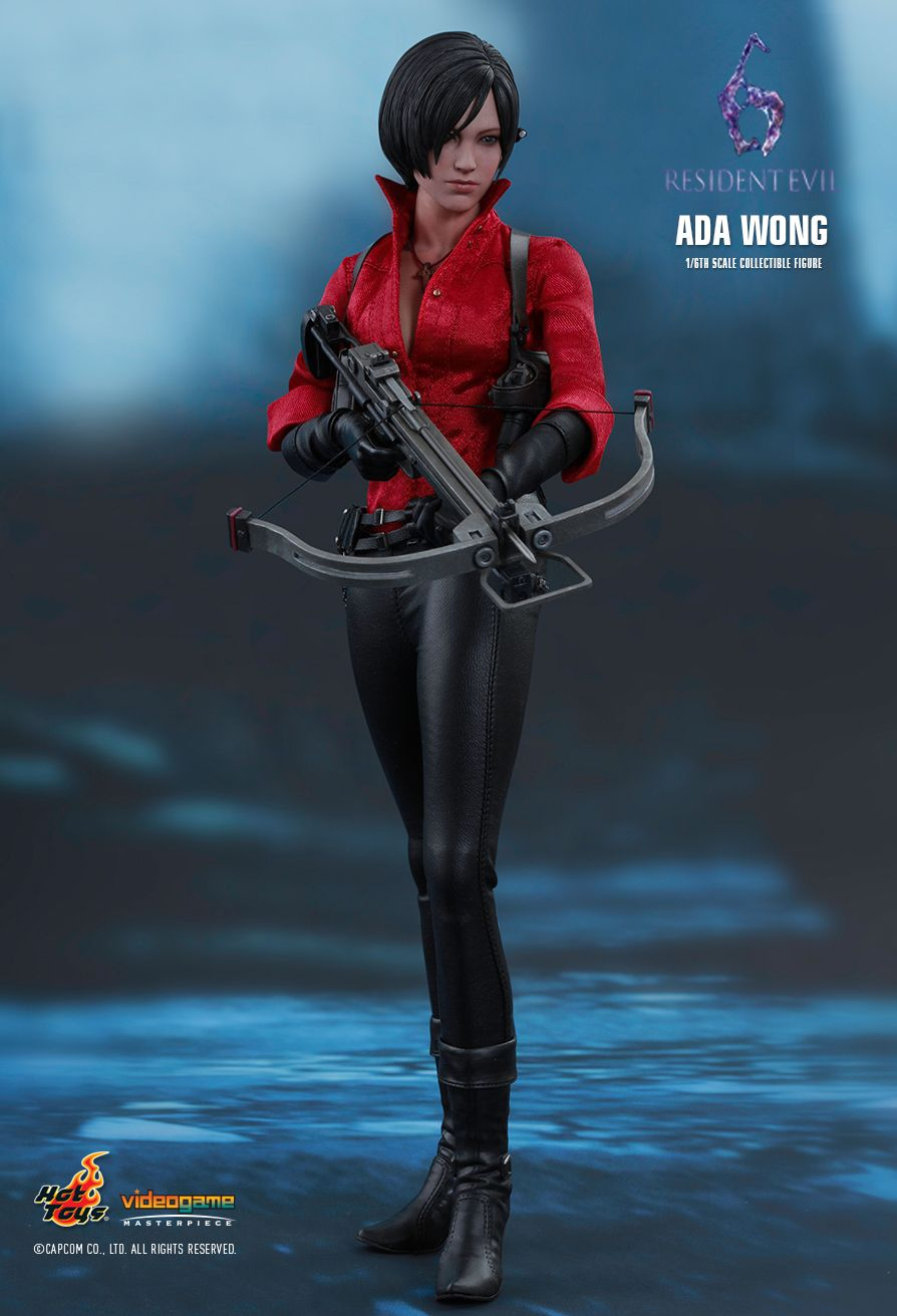 Hot Toys VGM21 RESIDENT EVIL 6 - ADA WONG