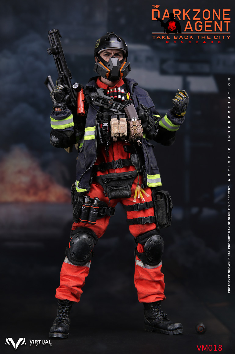 VTS TOYS VM-018 THE DARKZONE AGENT - RENEGADE