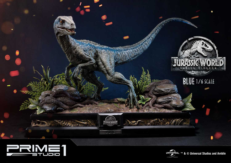 10/08/2018 Prime 1 Studio LMCJW2-01 BLUE (JURASSIC WORLD: FALLEN KINGDOM)