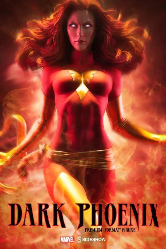 Sideshow Dark Phoenix Premium Format™