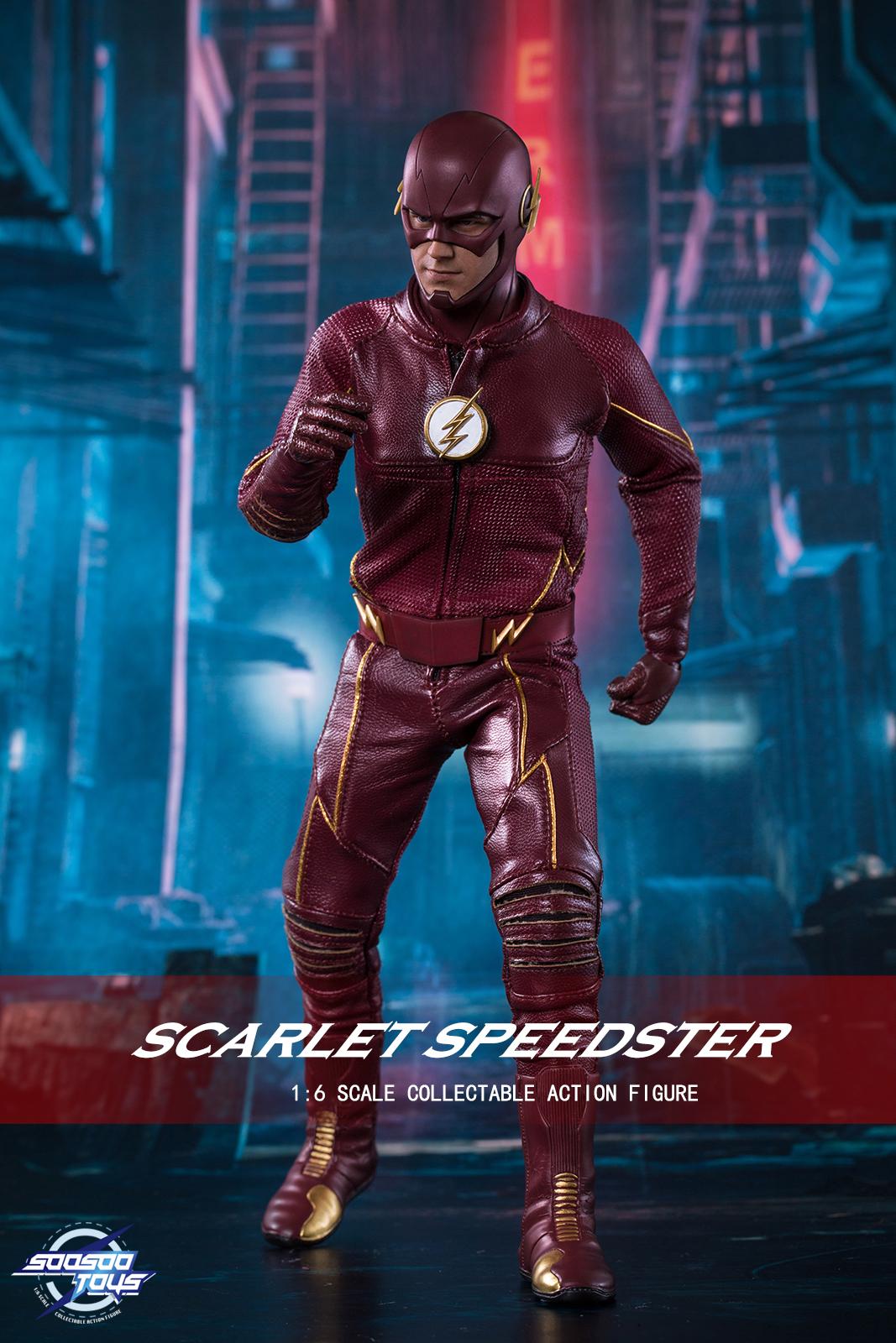 Soosootoys SST002 Scarlet Speedster