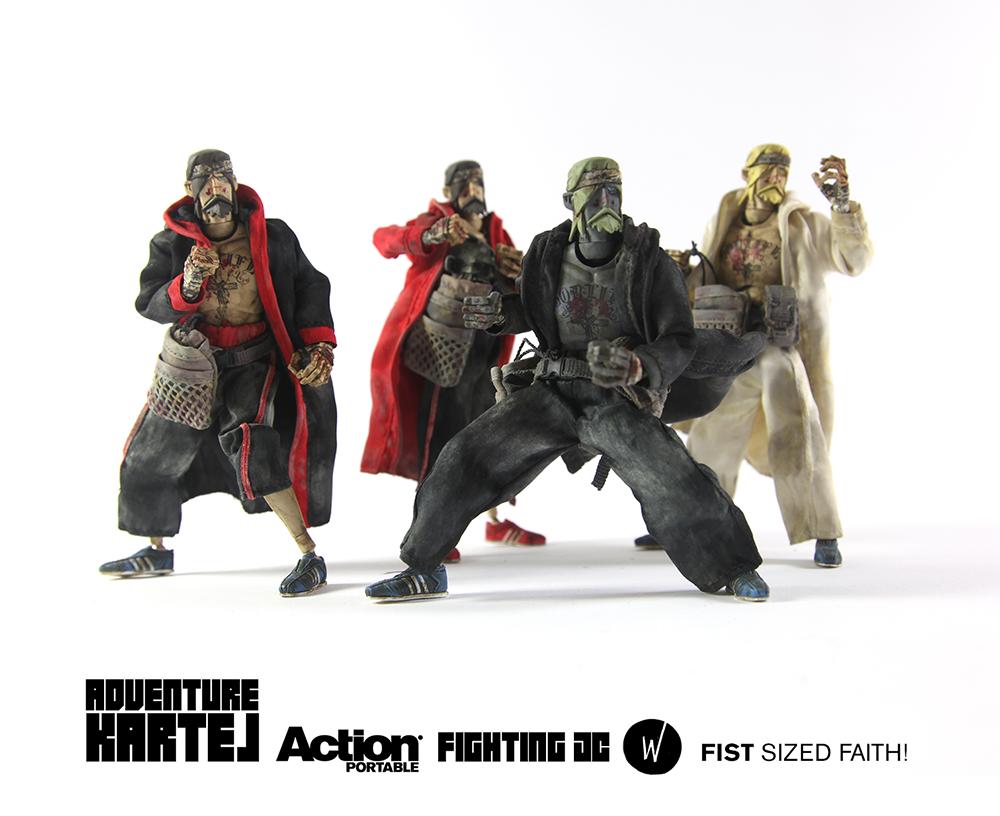 ThreeA Action Portable - Fighting JC Boxset