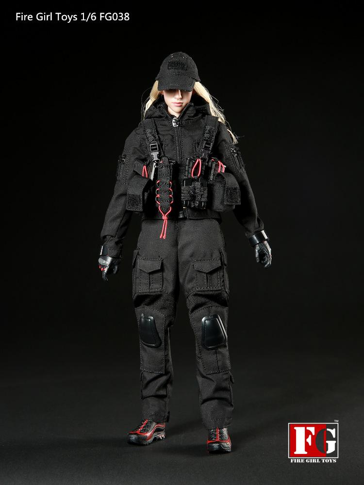 Fire Girl Toys FG038 Night Female Gunners Set