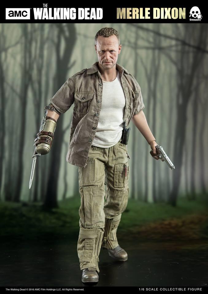 threezero 1/6 AMC The Walking Dead - Merle Dixon
