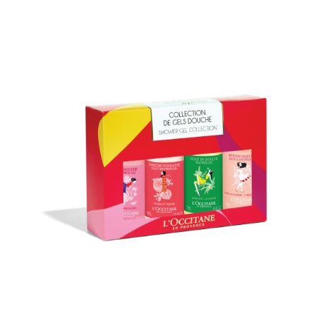 *พร้อมส่ง*L'Occitane 2016 Shower Gel Kit Set ชุดเซ็ทเจลอาบน้ำ 4 กลิ่นหอมเหมาะสำหรับมอบเป็นของขวัญ มีกลิ่นหอม หลากหลายกลิ่น ลวดลายน่ารัก รุ่นLIMITED EDITION ,