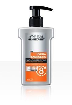 ลอรีอัล เม็น เอ็กซ์เพิร์ท ไฮดร้า เอเนอร์เจติก มัลติ-แอ็คชั่น 8 เซรั่ม โฟม 150มล. L'OREAL MEN EXPERT HYDRA ENERGETIC MULTI-ACTION 8 SERUM FOAM 150 ML