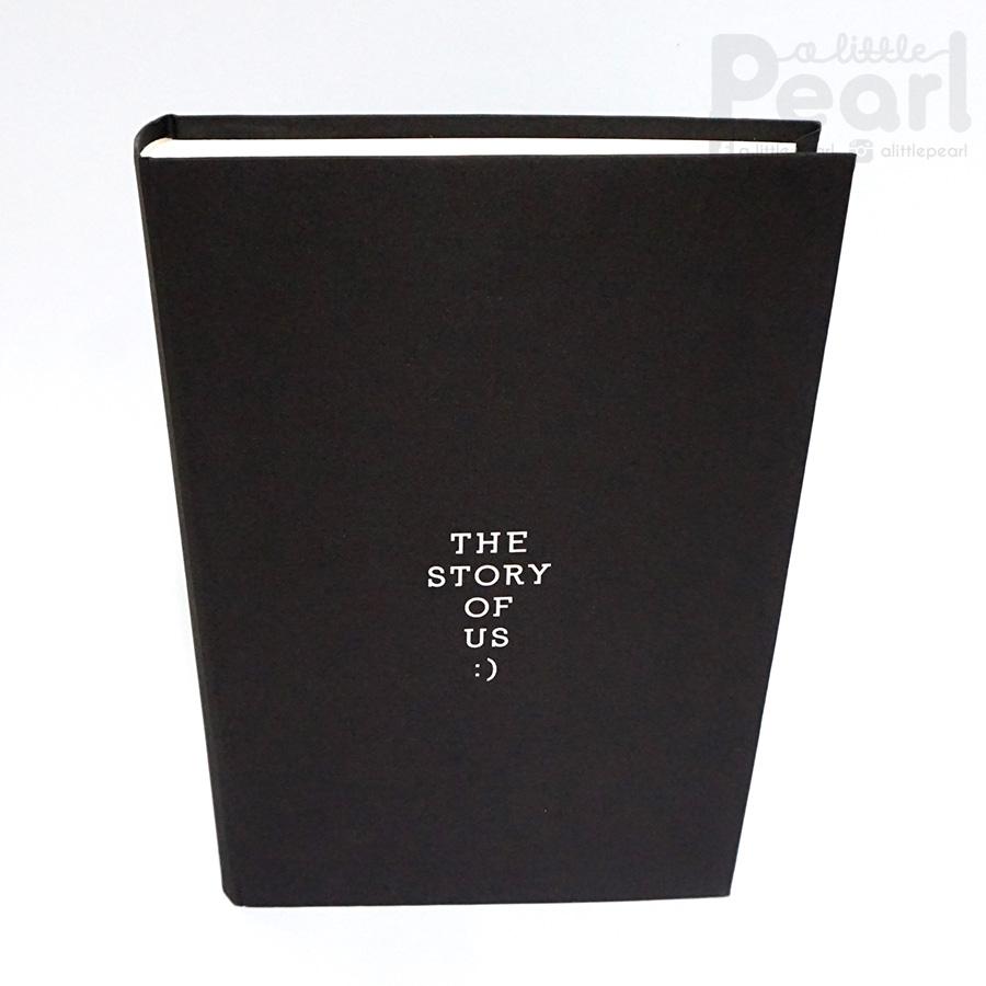 อัลบั้ม 300 รูป The story of us สไตล์มินิมอล สีน้ำตาลเข้ม