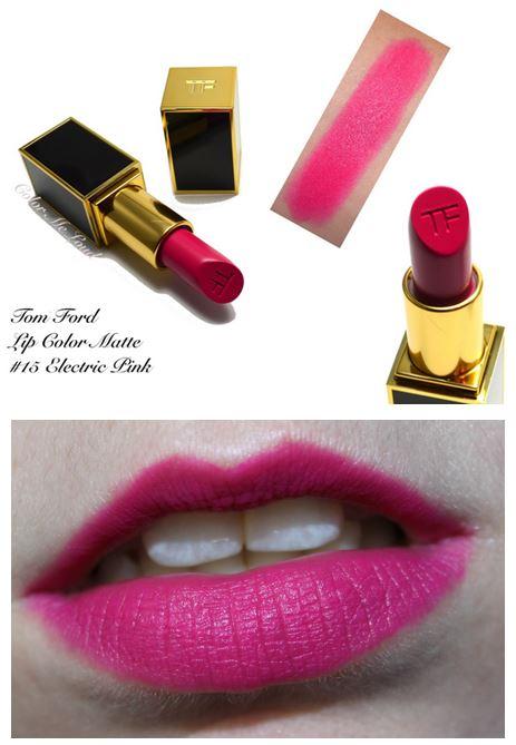 **พร้อมส่ง**Tom Ford Lip Color Matte #15 Electric Pink ลิปสติกเนื้อแมทเลอเลิศจากแบรนไฮโซสุดฮอต หรูหรา และคุณภาพดีสุดๆ ให้สีชัดติดทนนาน ทาออกมาแล้วให้สีเรียบเนียนสม่ำเสมอและไม่เป็นคราบระหว่างวัน ,