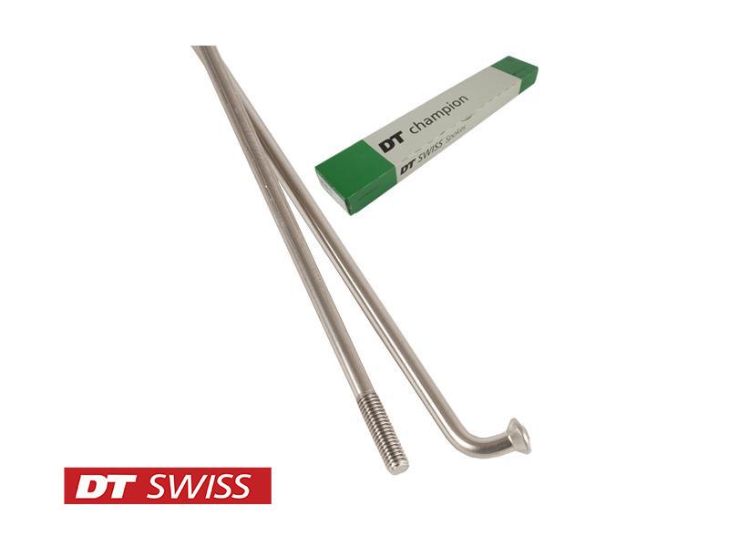 DT Swiss Champion Straight Gauge Spoke 2.0 Silver