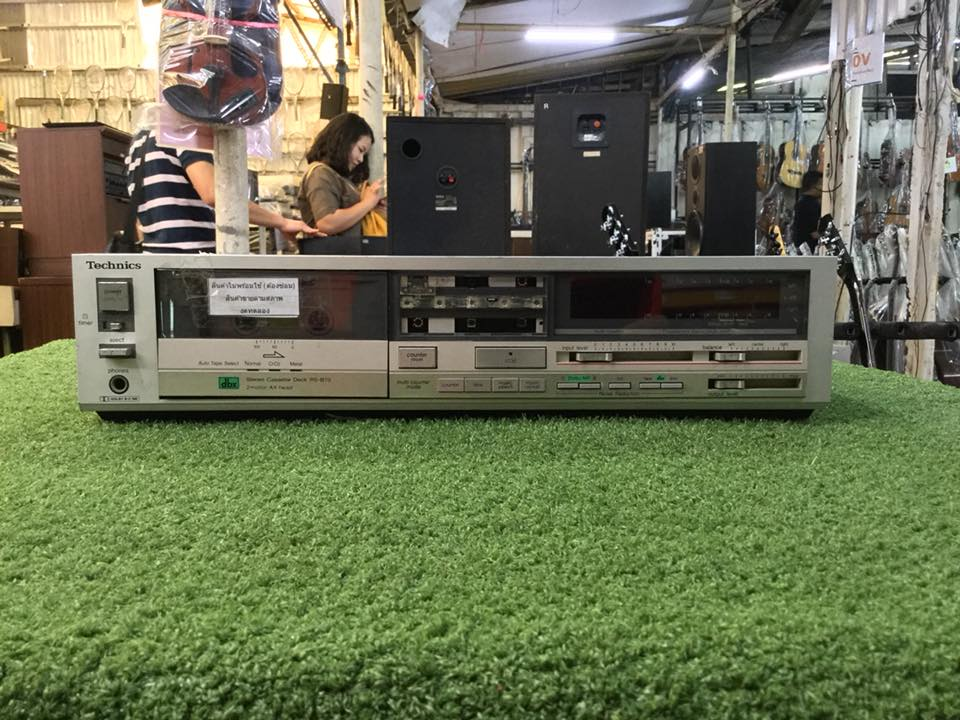 เครื่องเล่นเทป Technics RS-B70 สินค้าไม่พร้อมใช้งาน (ต้องซ่อม)