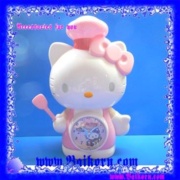 นาฬิกาปลุกคิตตี้ แบบที่ 01 ( Kitty Alarm Clock ) สินค้าสุดน่ารักและน่าใช้ สไตล์คิตตี้