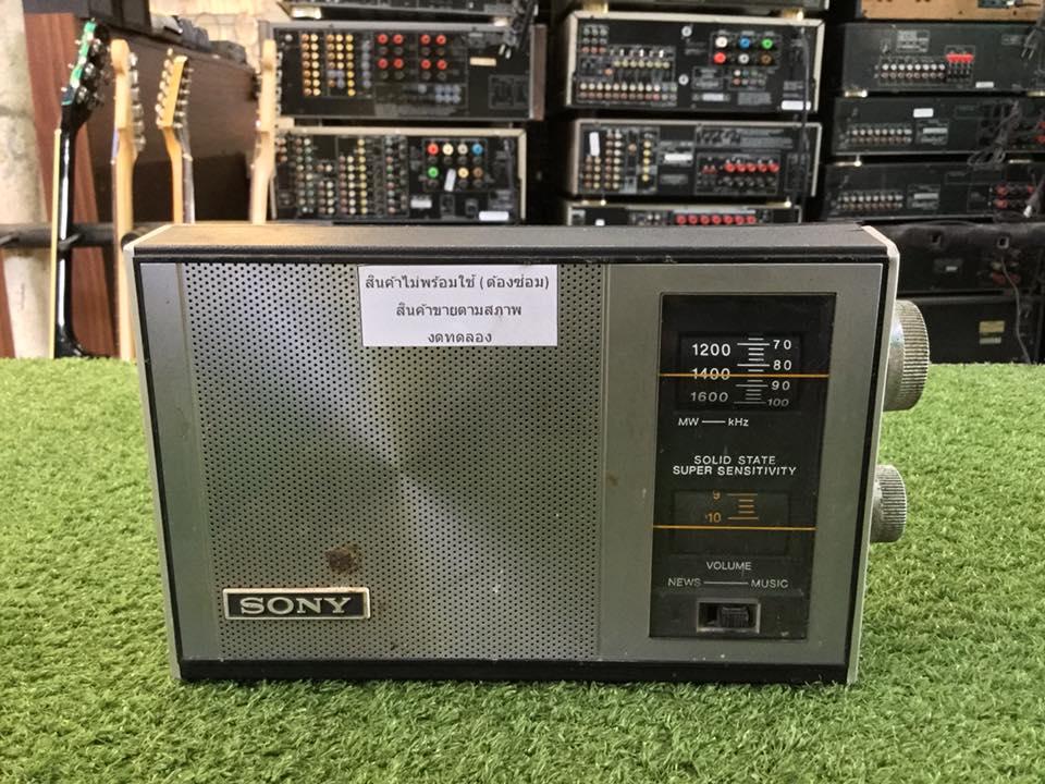 วิทยุ FM AM SONY TR-800 สินค้าไม่พร้อมใช้งาน (ต้องซ่อม)