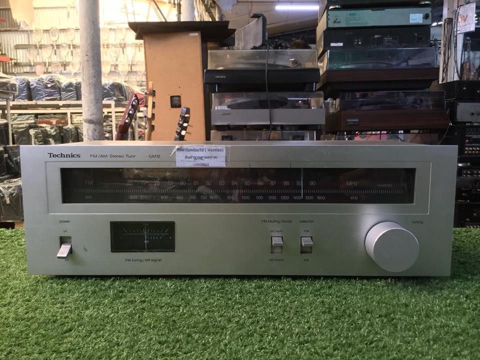 วิทยุ FM AM Technics ST-GM12 สินค้าไม่พร้อมใช้งาน (ต้องซ่อม)