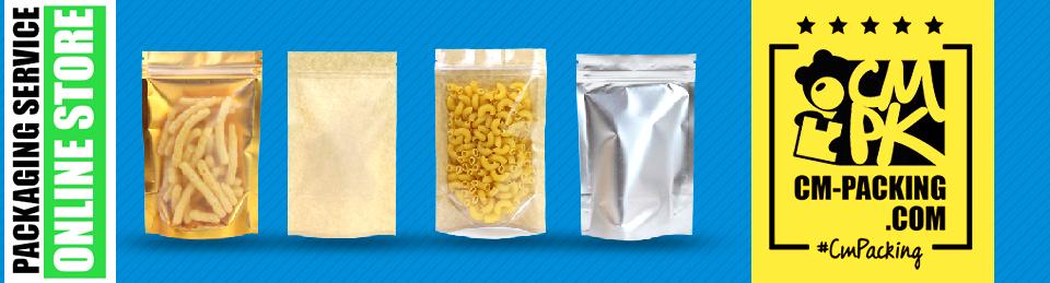 CM-PACKING ผู้จัดจำหน่าย ถุงซิปล็อค ซองซีล ถุงกระดาษคราฟท์ ซองฟอยล์ ถุงพลาสติก Packaging ขาย ปลีก ส่ง ราคาถูก Stock แน่น