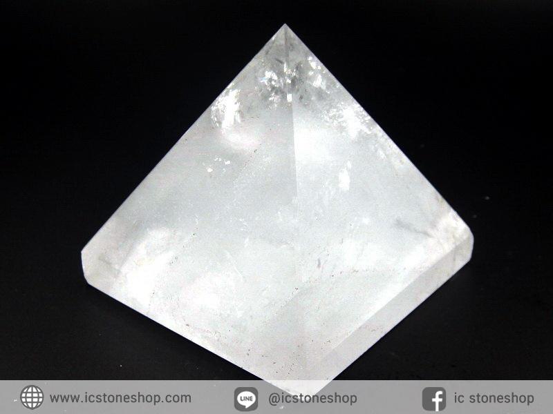 หินทรงพีระมิค-ควอตซ์ใส Clear Quartz (269g)
