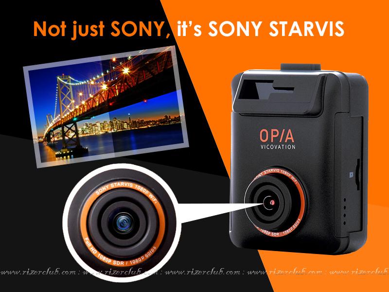 กล้องติดรถยนต์ Vico-Opia1 SONY STARVIS