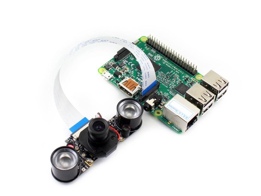 โมดูลกล้อง Raspberry Pi Camera IR-CUT Night Vision Camera Module 5 MP OV5647 Automatically Switch Day and Night Mode