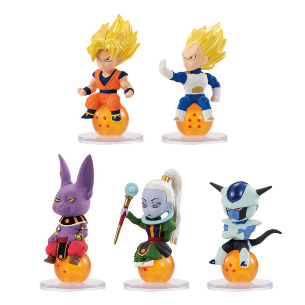 Dragon Ball Super - Chara Pucchi 10Pack BOX (CANDY TOY)(Pre-order)