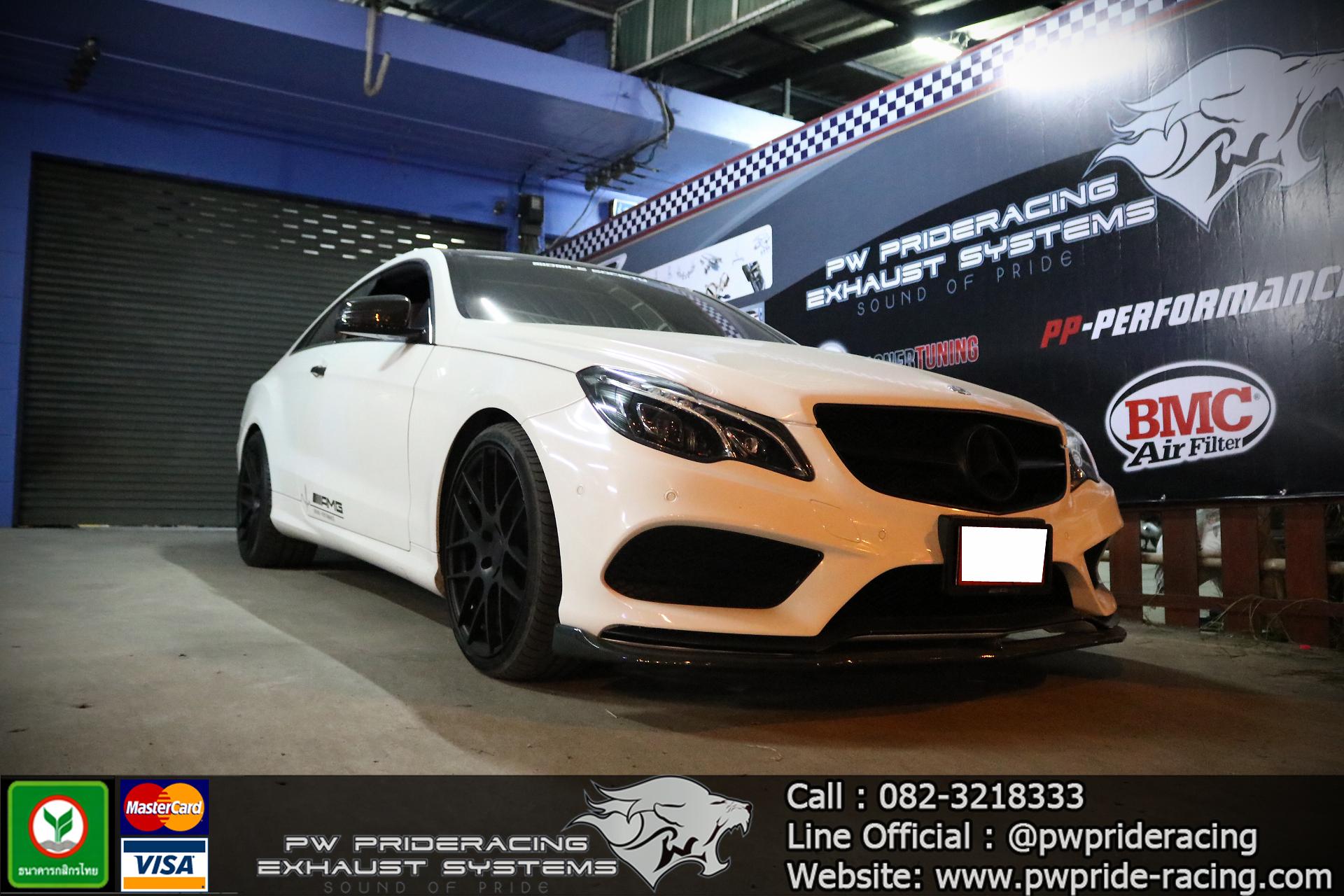 ชุดท่อไอเสีย Benz E-Coupe W207 Valvetronic Exhaust System