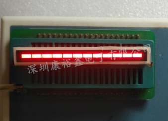 12 Segment LED Bar Graph สีแดง