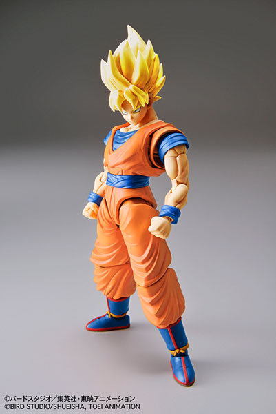 Figure-rise Standard - Dragon Ball: Super Saiyan Son Goku Plastic Model(Pre-order)