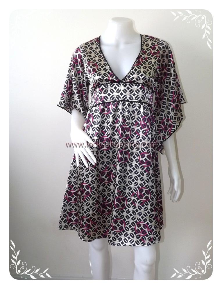 """Dress0222--เดรสแฟชั่น นำเข้า สวยๆ """"อก 33-34 นิ้ว"""""""