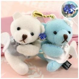 พวงกุญแจน้องหมีในชุดนางฟ้า น่ารักสุดๆ ค่ะ