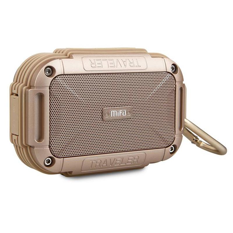 ลำโพงพกพา MIFA F7 Bluetooth Speaker (Gold)