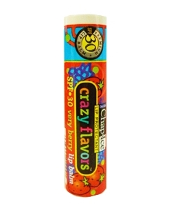 Chap Ice กลิ่น Very Berry ลิปบาล์มบำรุงริมฝีปาก ป้องกันริมฝีปากหมองคล้ำ มีค่า SPF30