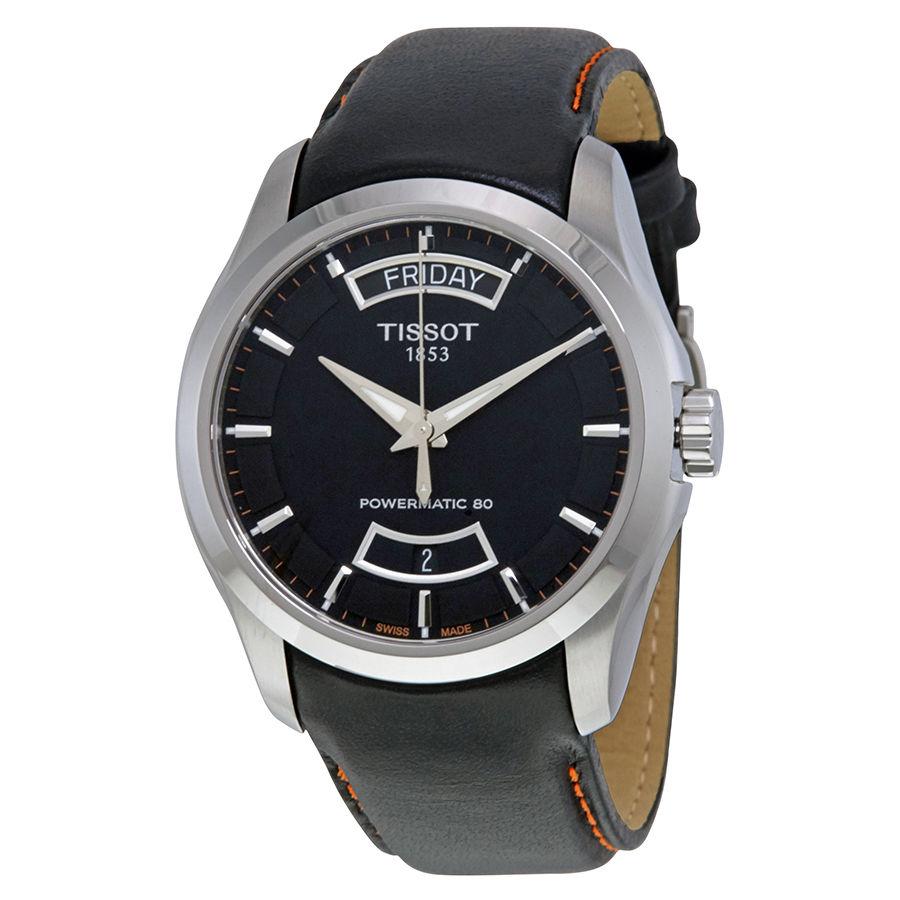 นาฬิกาผู้ชาย Tissot รุ่น T0354071605103, T-Classic Couturier Powermatic 80