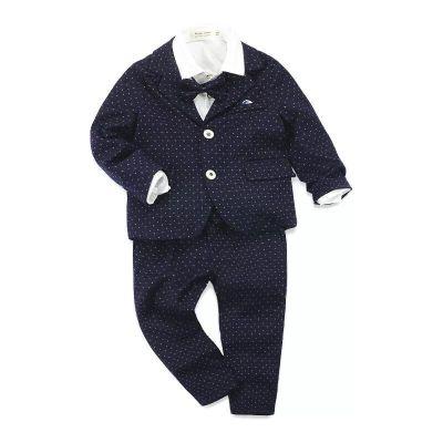 ID447-เสื้อ+กางเกง+เสื้อกั๊ก+เสื้อตัวนอก 5 ชุด /แพค ไซส์ 100-140
