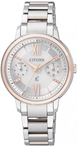 นาฬิกาผู้หญิง Citizen Eco-Drive รุ่น FD1014-52A, XC Sapphire 50m Japan Elegant