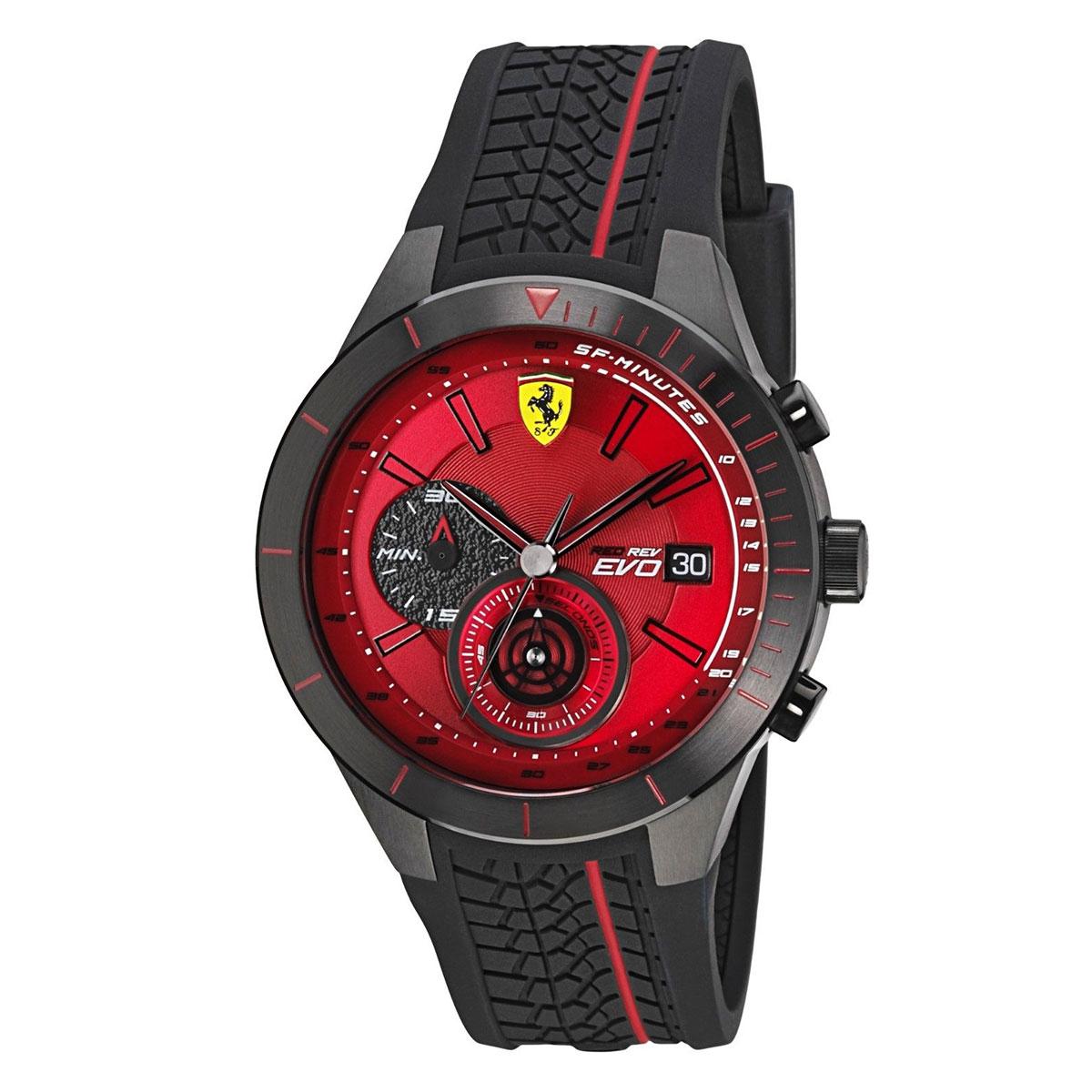 นาฬิกาผู้ชาย Ferrari รุ่น 0830343, RedRev Evo