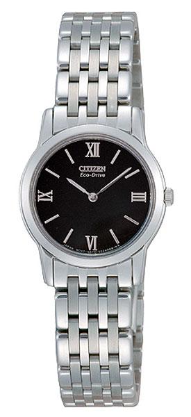นาฬิกาผู้หญิง Citizen รุ่น EG3040-68E, Business ECO-DRIVE Analog Silver Watch